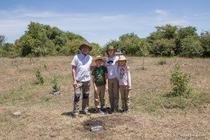 Kempinksi Olare Mara tree planting