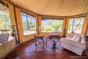 Kempinksi Olare Mara living room