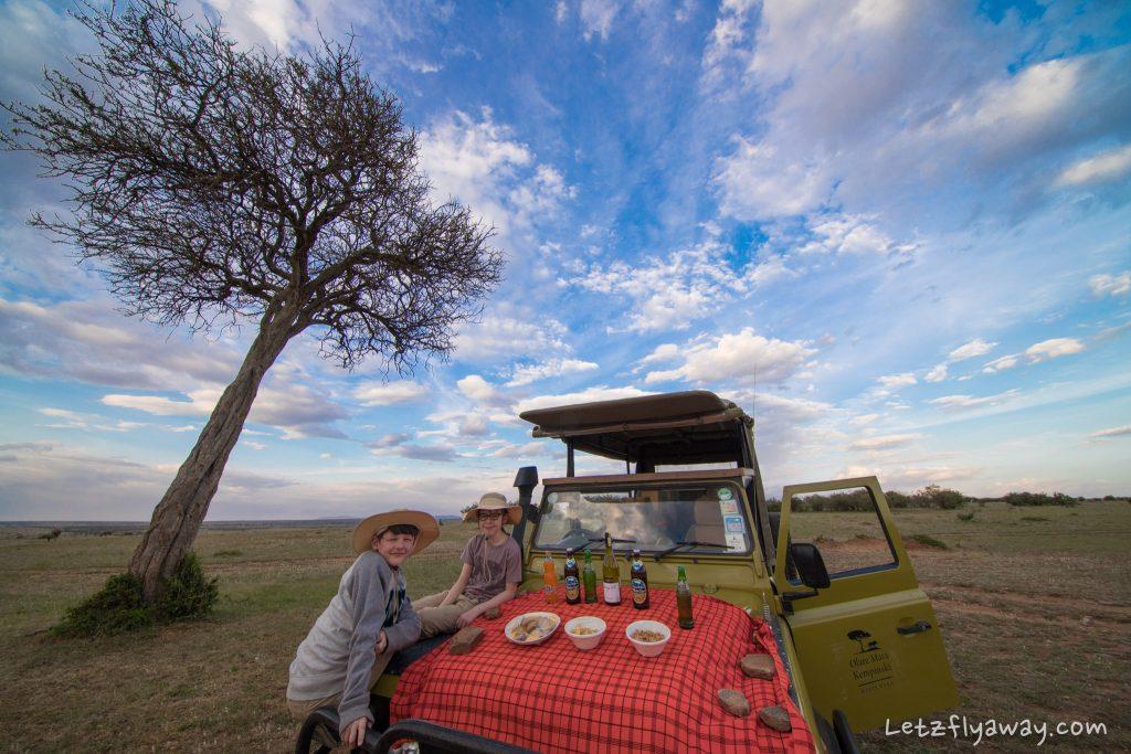 Kempinksi Olare Mara sundowner
