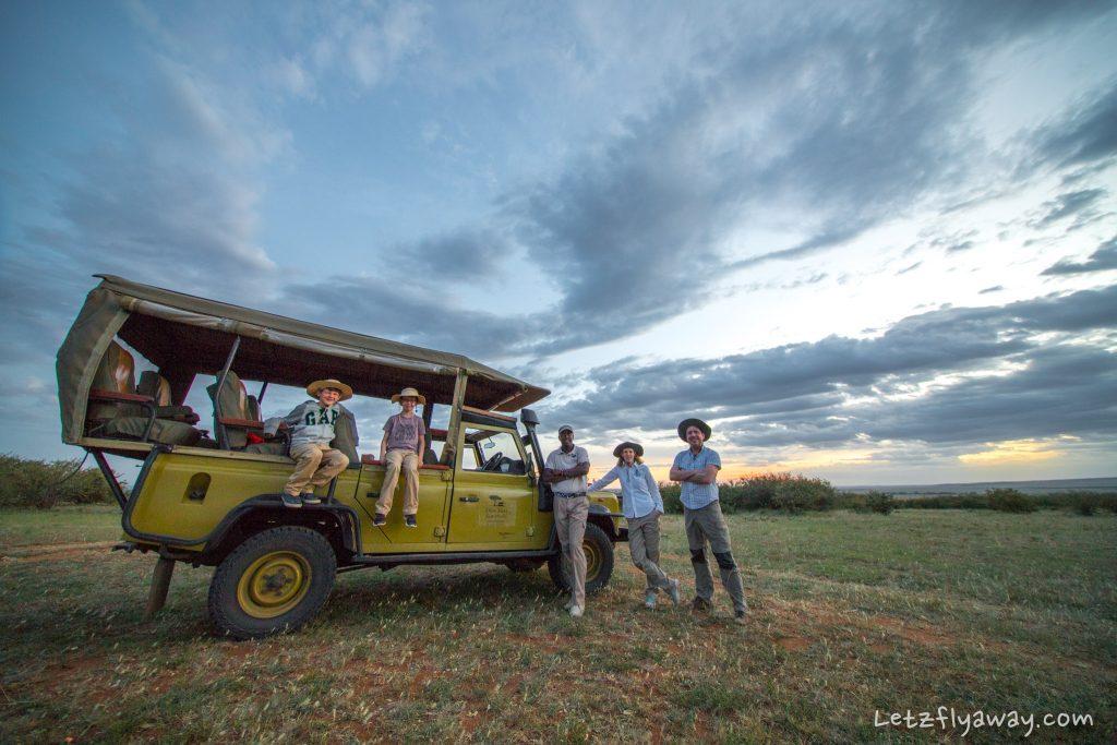 Kempinksi Olare Mara game drive