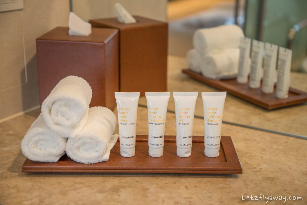 Crowne Plaza Changi bathroom amenities