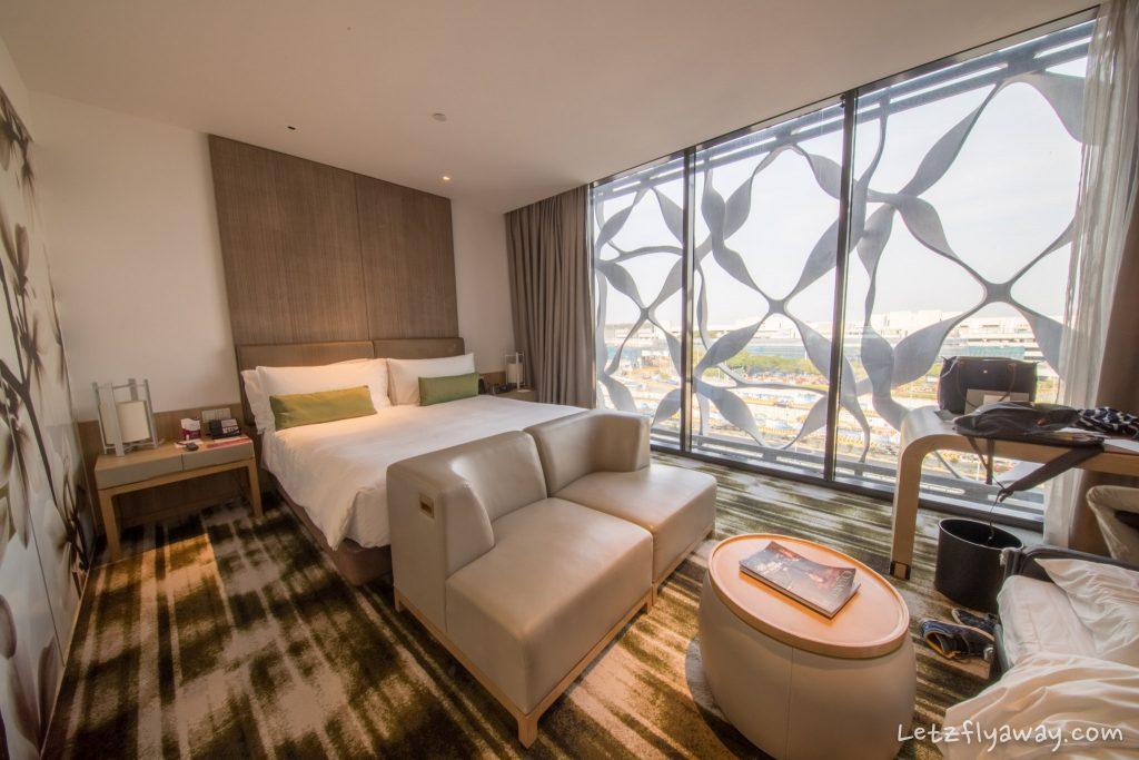 Crowne Plaza Changi room
