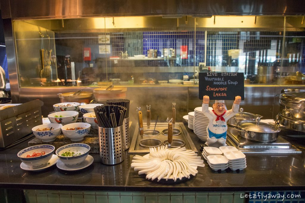 Crowne Plaza Changi breakfast