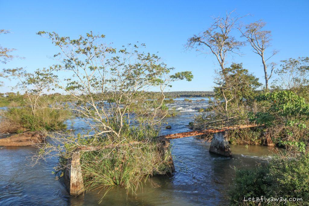 Iguazu Falls landscape