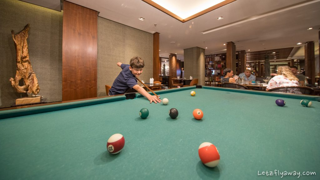 club millesime pool table