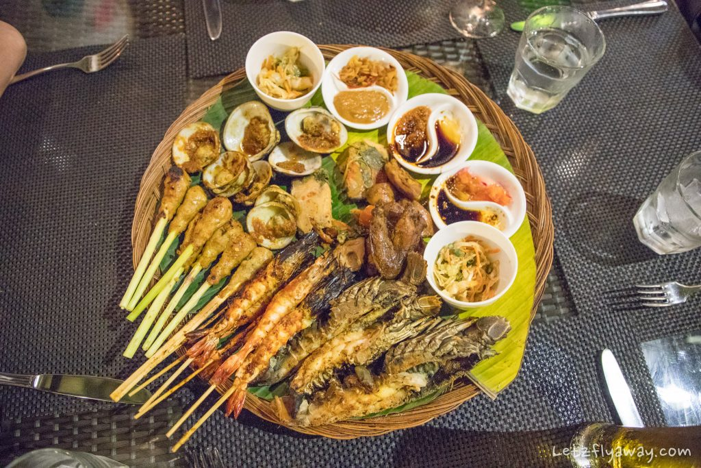 Toya Balinese beach barbeque