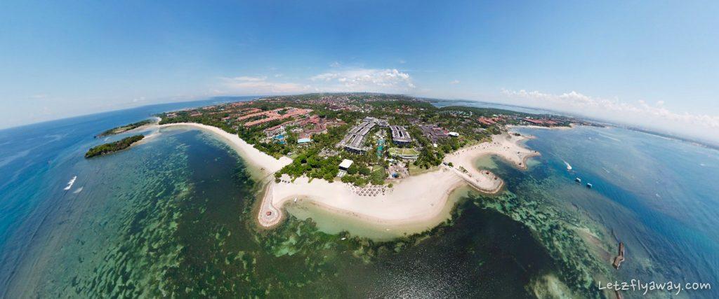 Nusa dua by drone