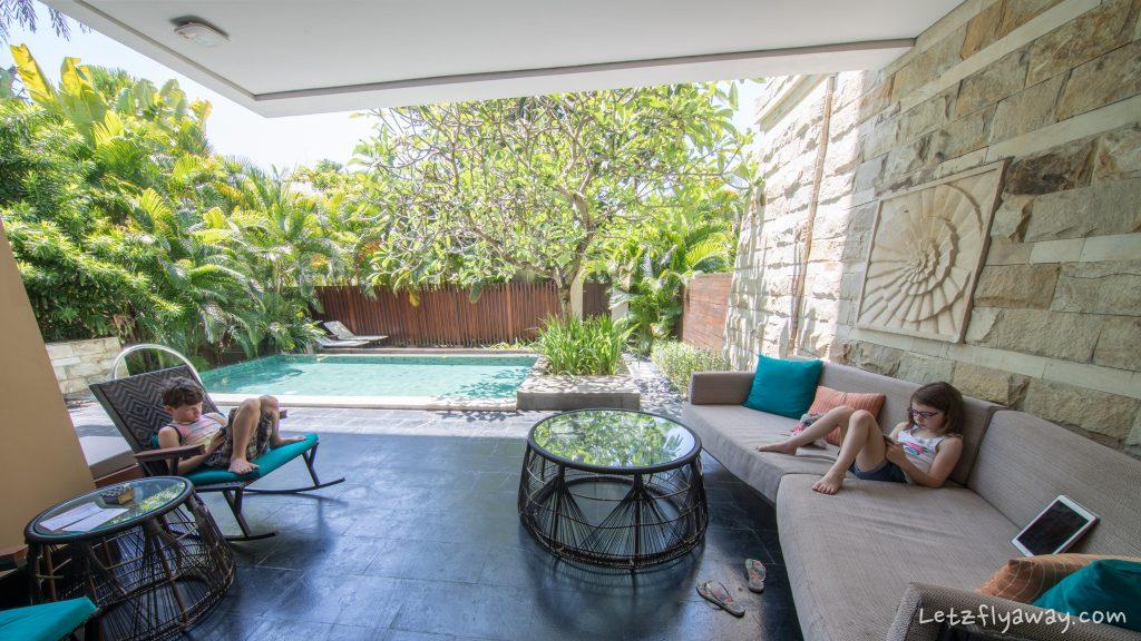 Sofitel Bali Nusa Dua Prestige Suite terrace