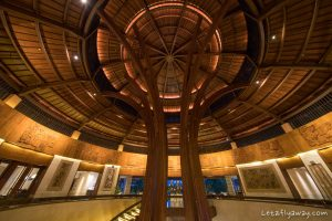 impressive lobby architecture