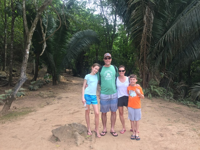 family in Belize