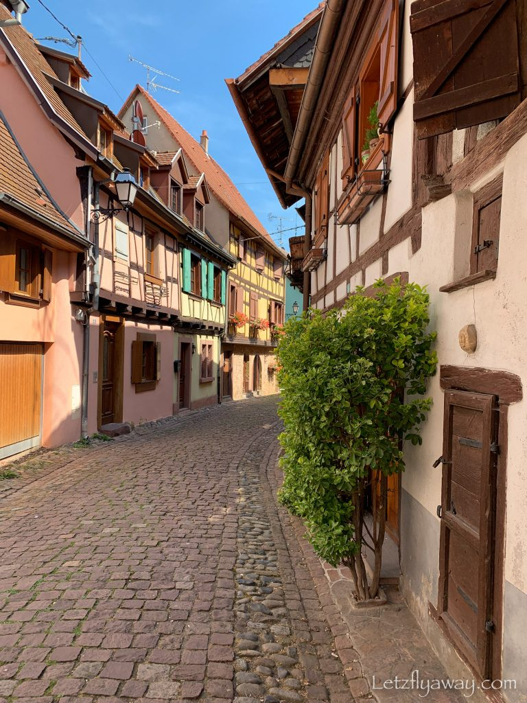 A weekend in Alsace Eguisheim